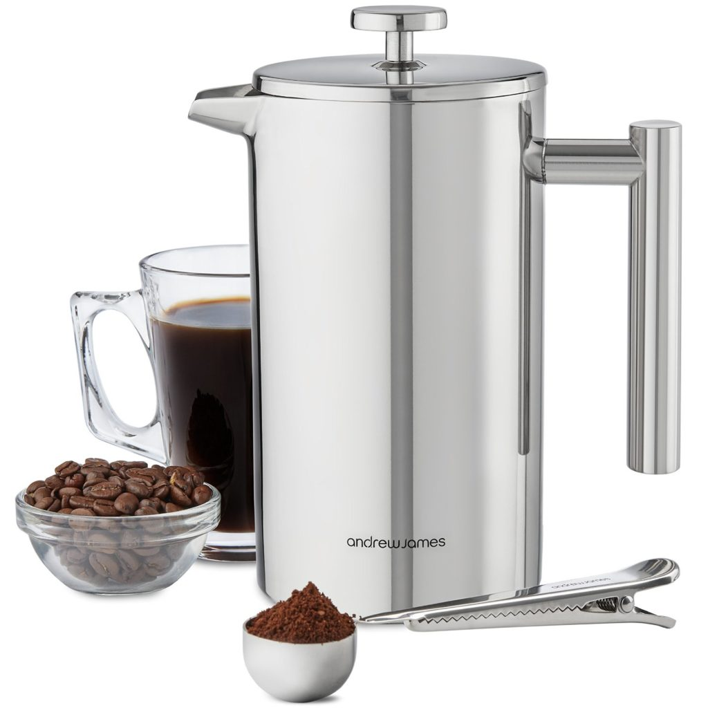 andrew-james-stainless-steel-cafetiere-review