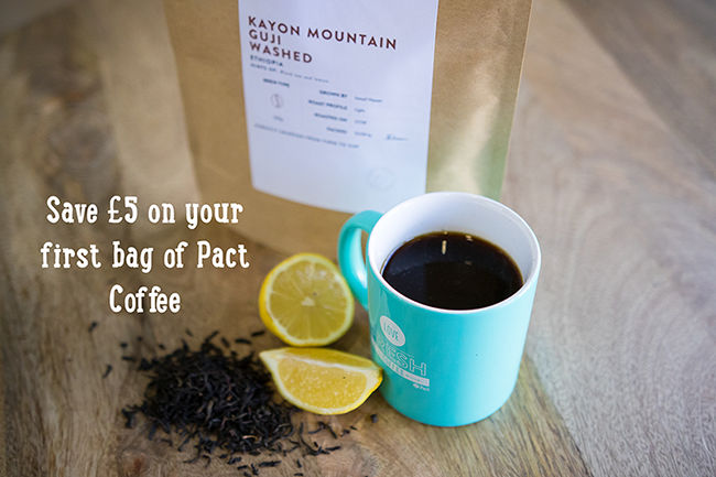 Pact coffee discount coupon.