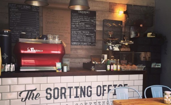 The Sorting Office. Independent Coffee Shop Cornwall.