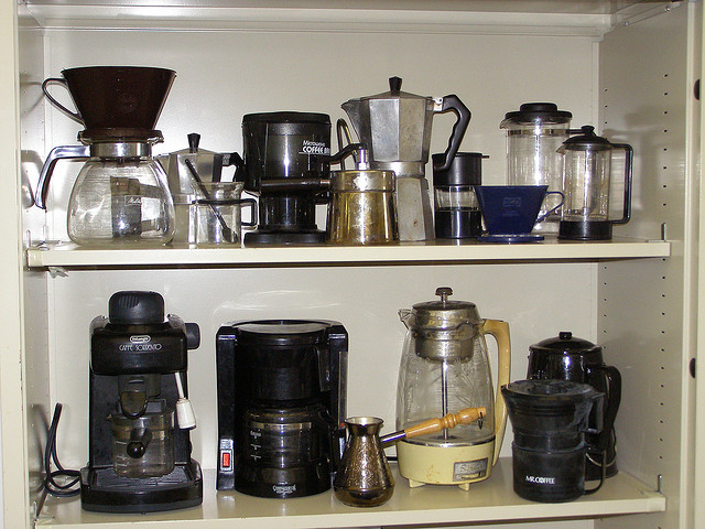 Coffee Brewing Eqipment.
