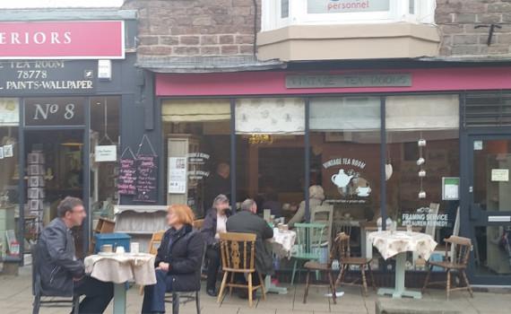 vintage tea rooms Buxton