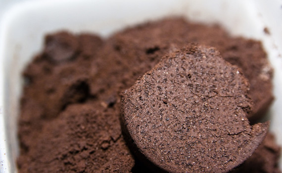 Why I freeze used coffee grounds.