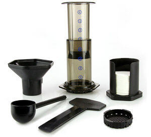 Aeropress coffee maker.