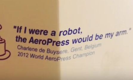 Aeropress would be my arm if I were a robot