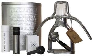 The Rok Espresso Maker.