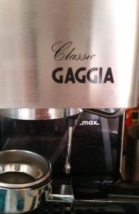 Classic Gaggia.