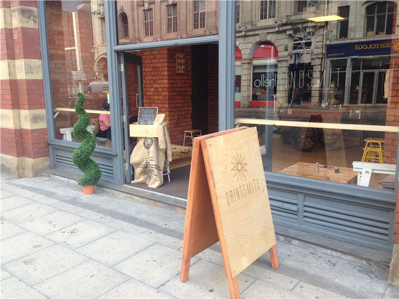 Grindsmith Deansgate Manchester Live Coffee Shop Review