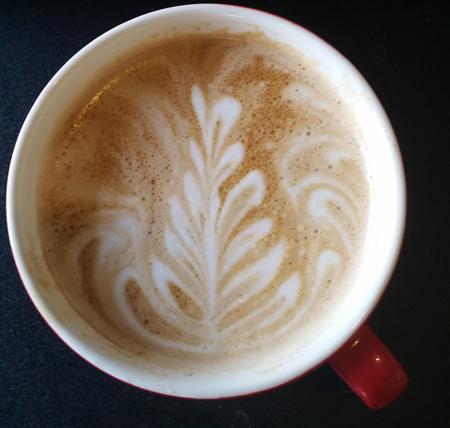 Latte Art - I did that!