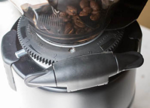Stepless worm drive on a Macap Grinder.