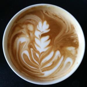 Latte art on gaggia classic.