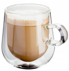 Funky Double Wall Glass Latte Mugs Review Coffee Blog