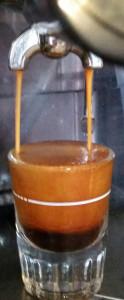Pulling an Espresso Shot.