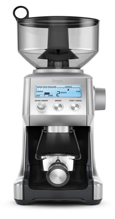 Slick Shiny Silver and Small - Smart Grinder Pro.