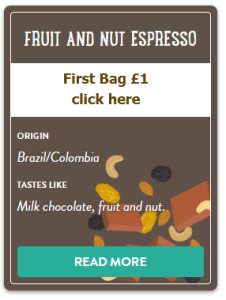 FRUIT AND NUT ESPRESSO