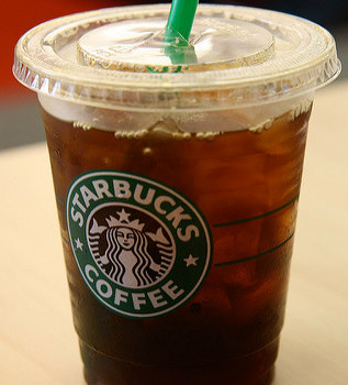 Starbucks Iced Coffee.