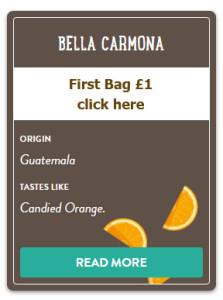 Bella carmona pact coffee.