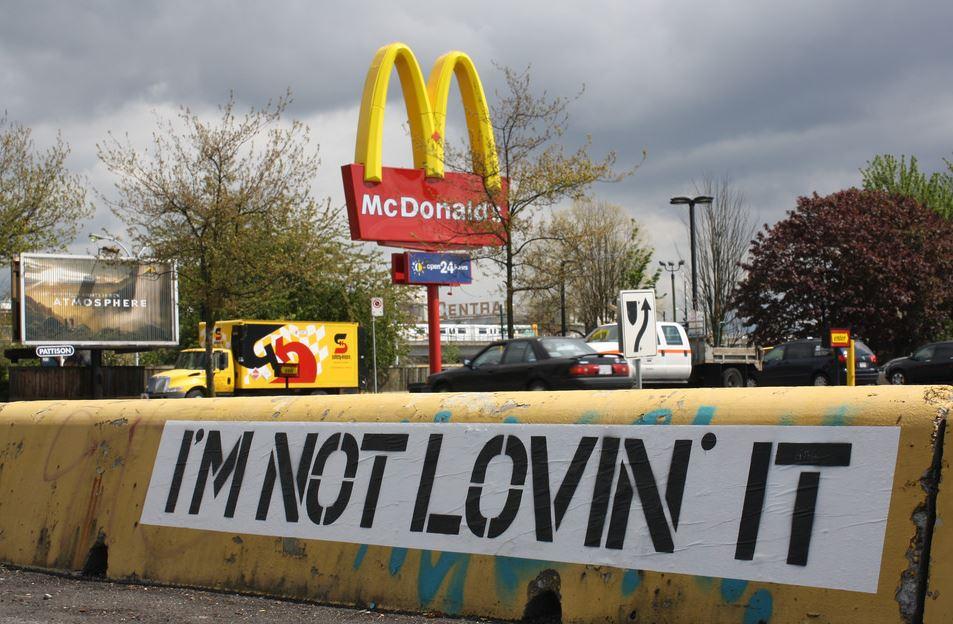 Not Loving Vegetarian Options at Mcdonalds.