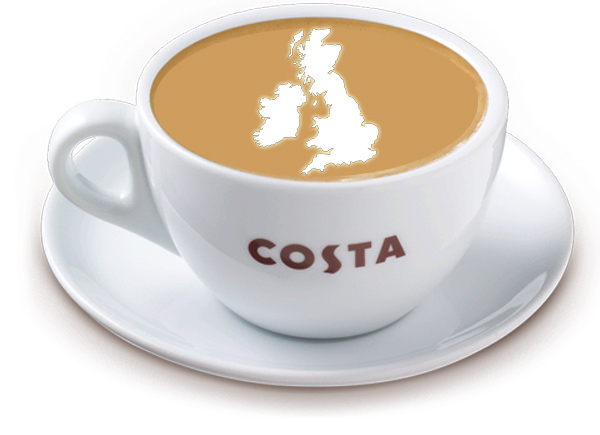 List Of Uk Drive Thru Costa Coffee Shop Locations Coffee Blog