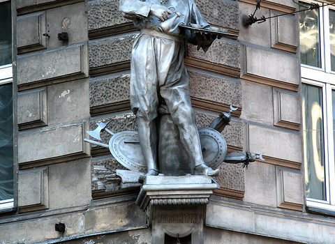 Franz Kolschitzky Statue, Vienna.