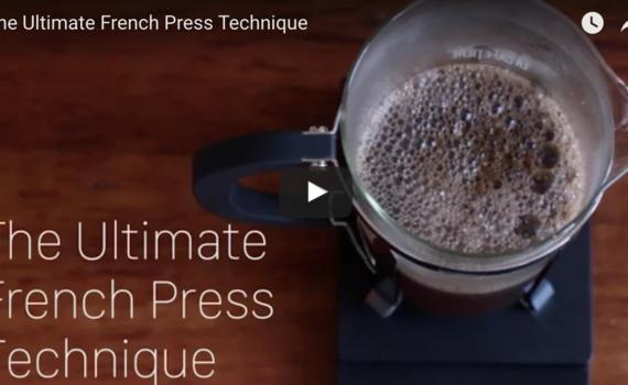 Ultimate Cafetiere Technique?
