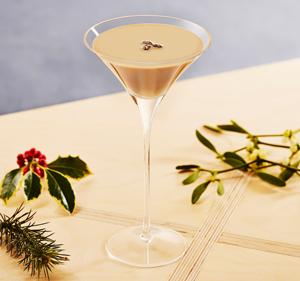 Baileys Flat White Martini.
