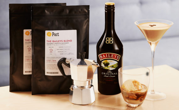 Baileys and Pact coffee