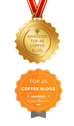 Coffee Blog Virtual Trophy Cabinet.