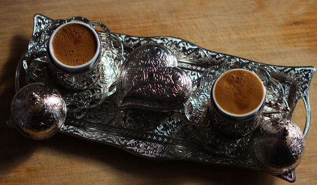 Turkish coffee cups.