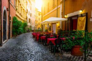 Cafe in Rome