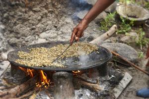 Coffee roasting Ethiopia