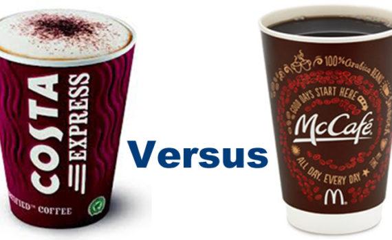 Costa Express vs Mcdonalds