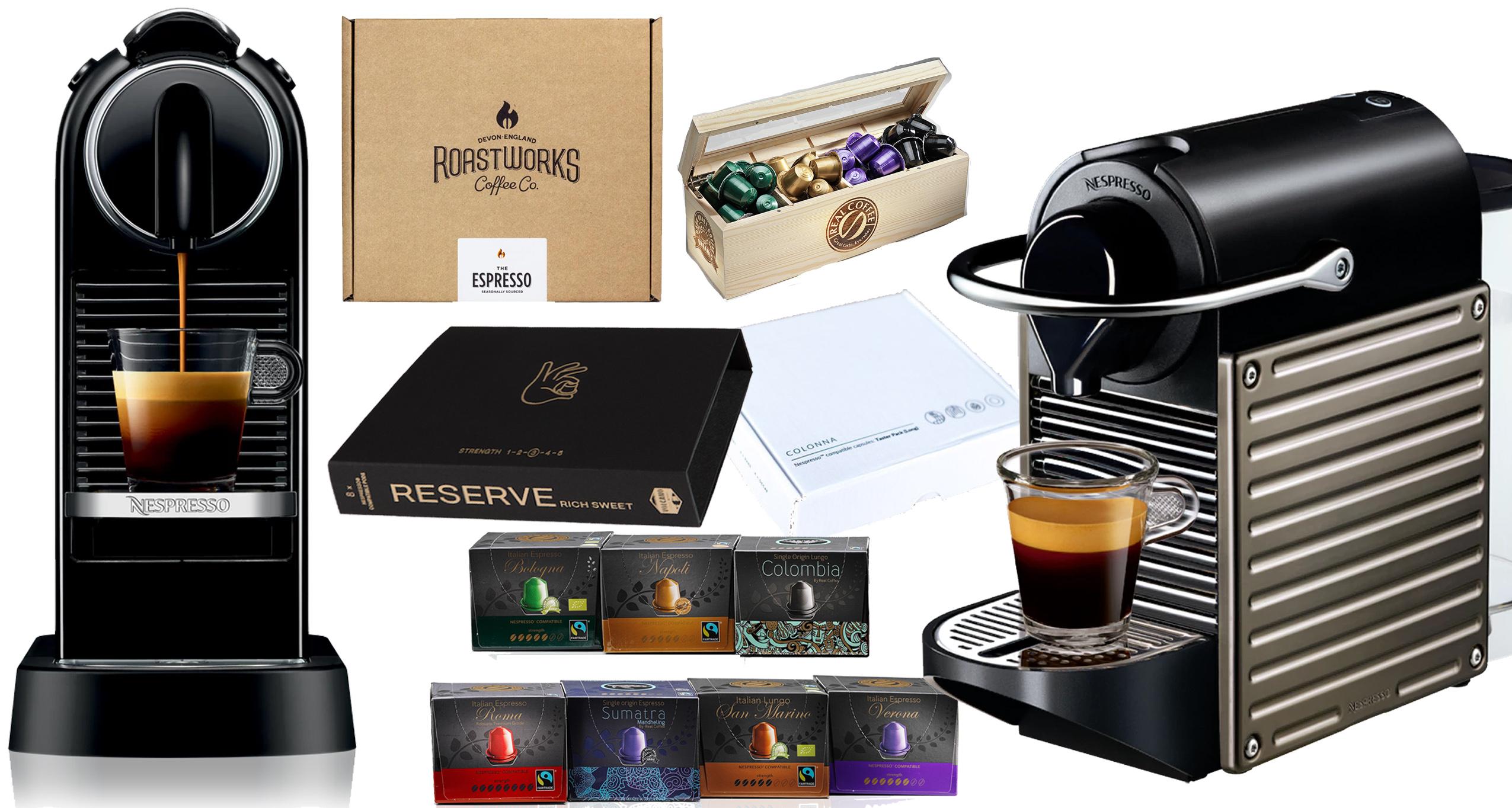 Nespresso Compatible Pods & Speciality Coffee?