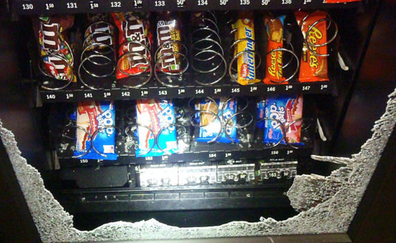 Rage Against The Vending Machine.