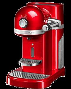 Nespresso Kitchen Aid.