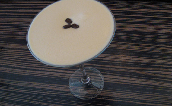 Coffee martini.