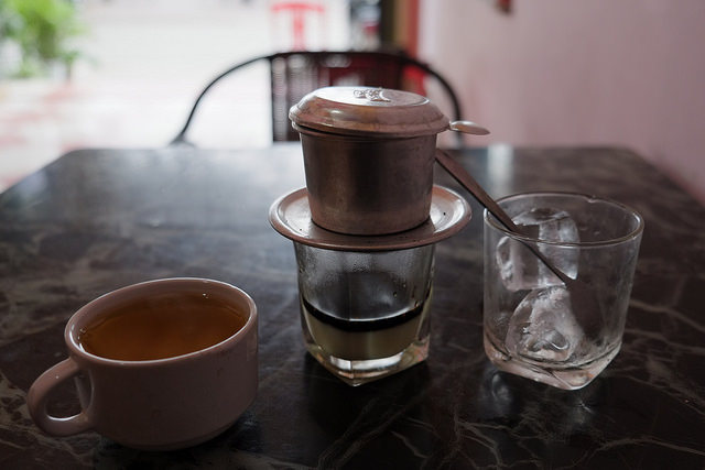 Vietnam coffee.