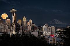 Seattle by Moonlight.