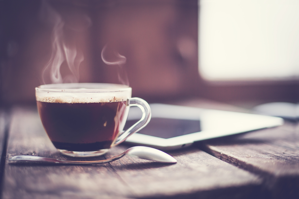 Best time to drink coffee.