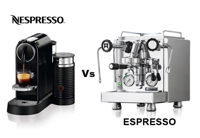 Nespresso vs espresso