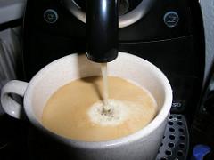 Nespresso Lungo Shot.