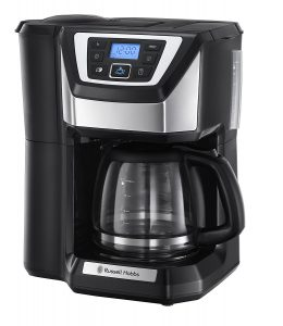Russell Hobbs bean to cup filter coffee machine.