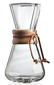 Best Manual Coffee Makers. Chemex.