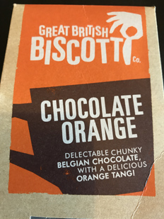 Chocolate orange.
