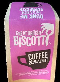 Coffee and walnut.