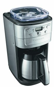 Cuisinart grind and brew plus.