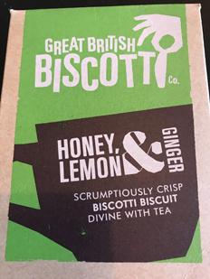 Honey lemon and ginger.