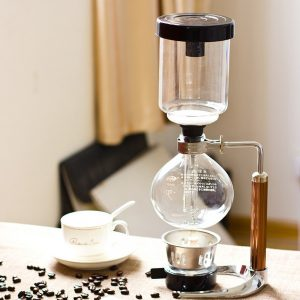 Syphon coffee maker.