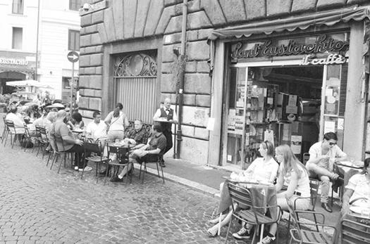 Caffe Sant Eustachio in Rome