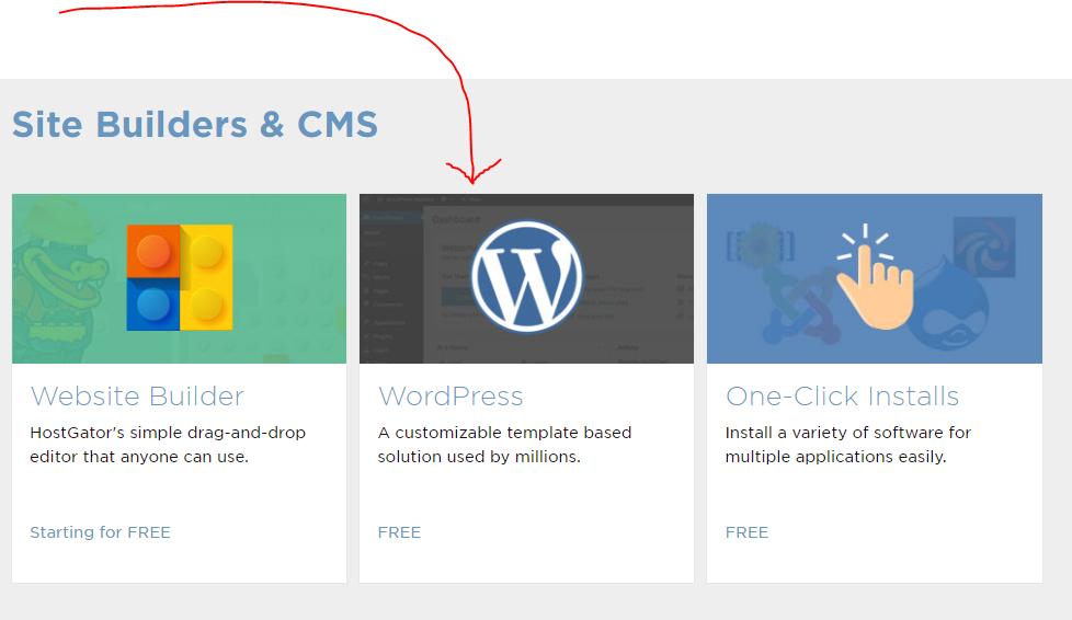 Install wordpress.
