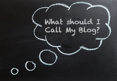 What should I call my blog.